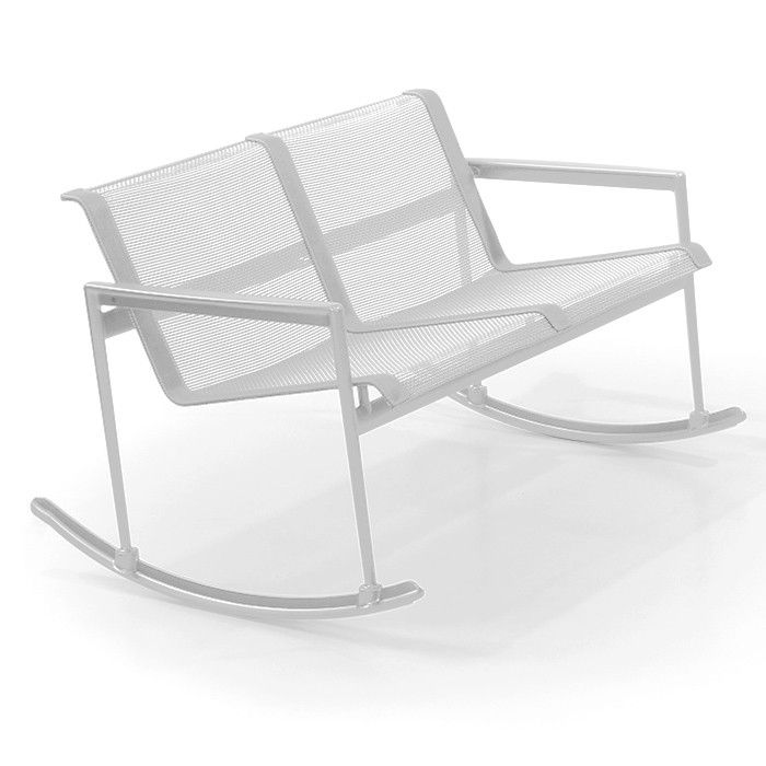 Patio Daddy O Furniture: 1966 Collection Double Rocker By Richard Schultz