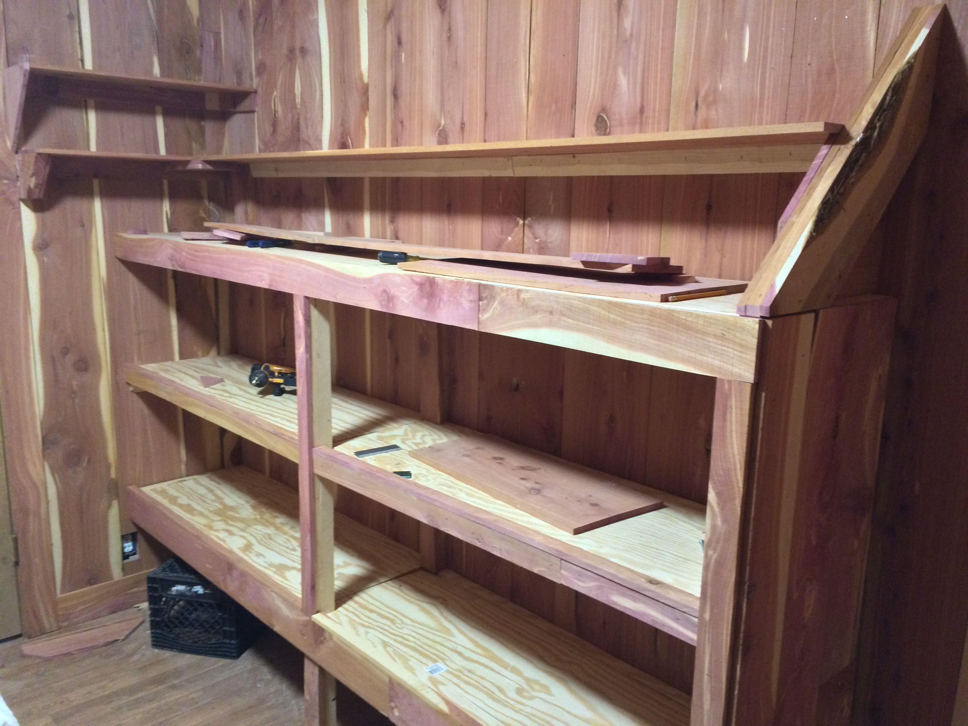 Breakshopping Com Corner Shelves Corner Closet Shelves Cedar Closet