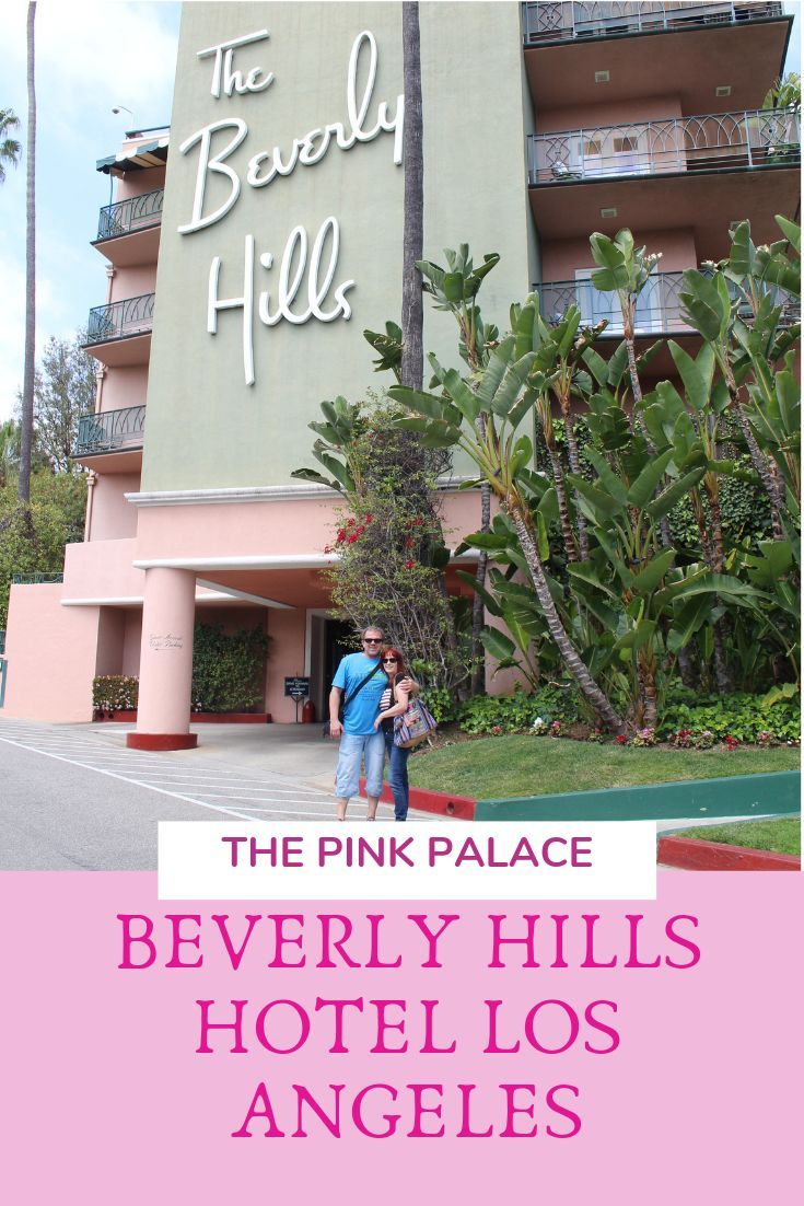 Pink Palace Beverly Hills Hotel Los Angeles.