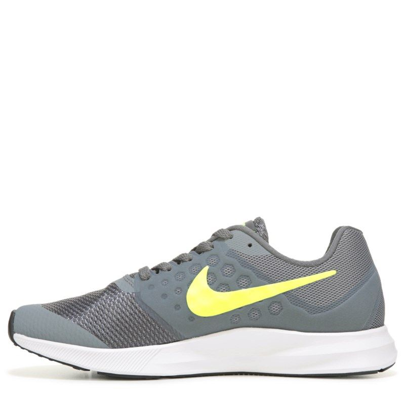 ec3780e09f6 Nike Kids  Downshifter 7 Medium Wide Running Shoe Grade School Shoes (Cool  Grey Volt) - 5.0 M