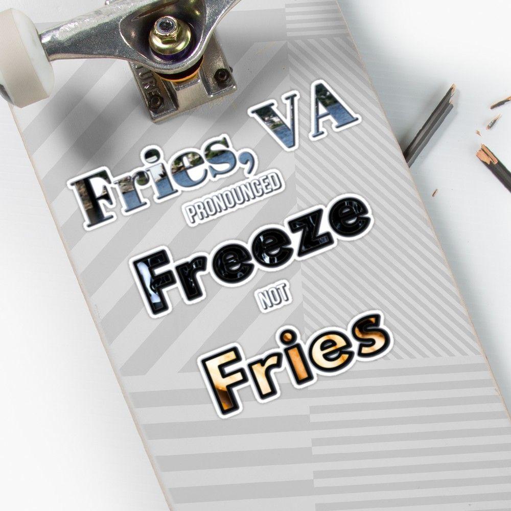'Fries, VA Pronounced Freeze not Fries Appalachia Virginia