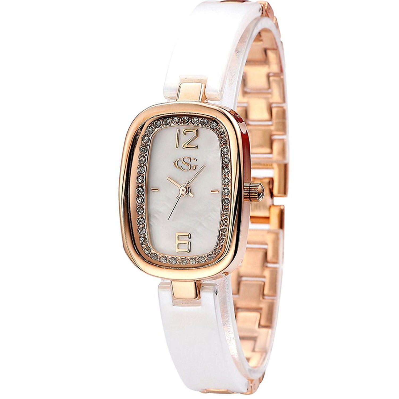 SMITH Lady's 33mm Dial Luxury Rhinestone Bracelet