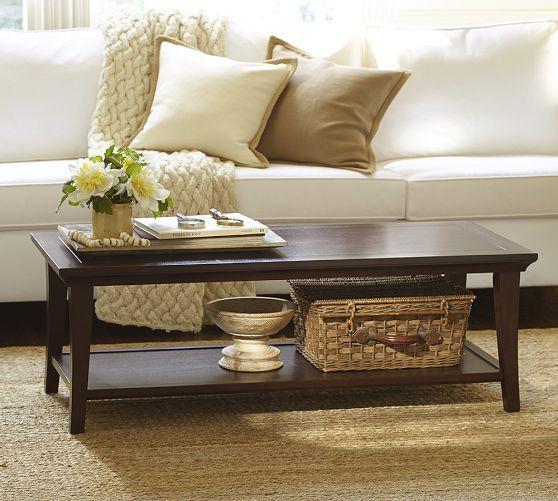 Metropolitan Rectangular Coffee Table Coffee Table