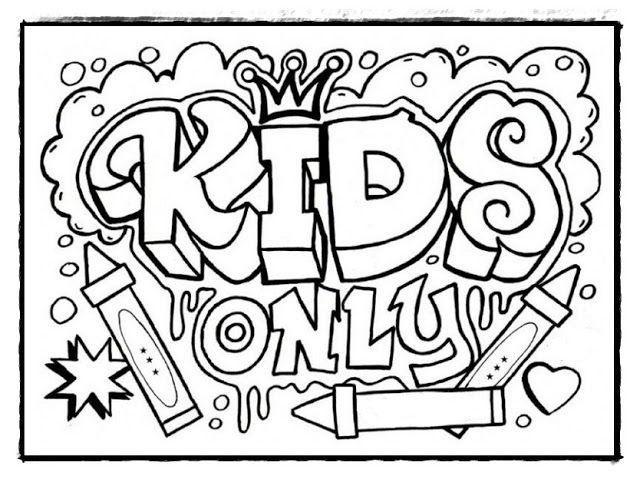 Ausmalbilder Graffiti Ausdrucken Malvorlagen Fur Jugendliche Lustige Malvorlagen Malvorlagen Zum Ausdrucken