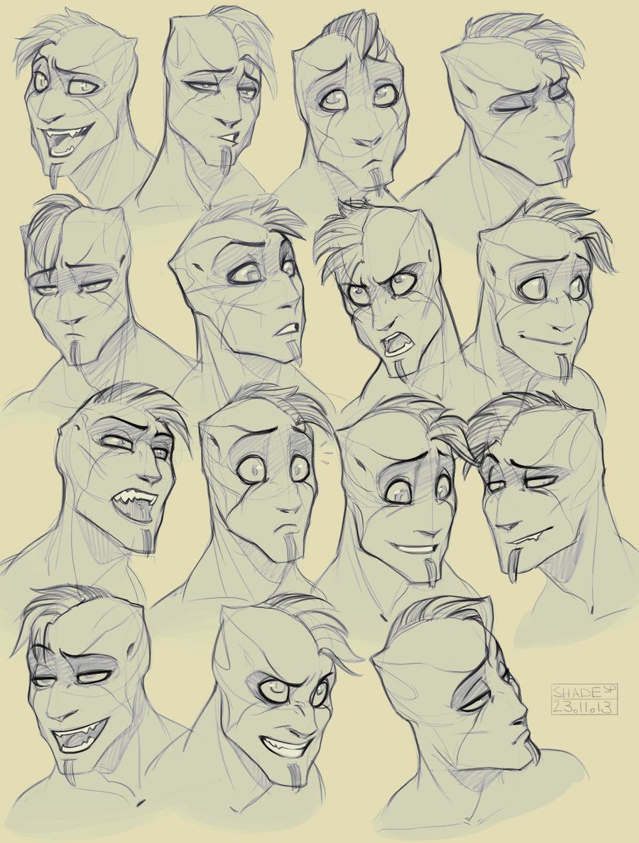 Expression Practice Shaden By Shade Shypervert On Deviantart Drawing Cartoon Faces Drawing Expressions Cartoon Faces