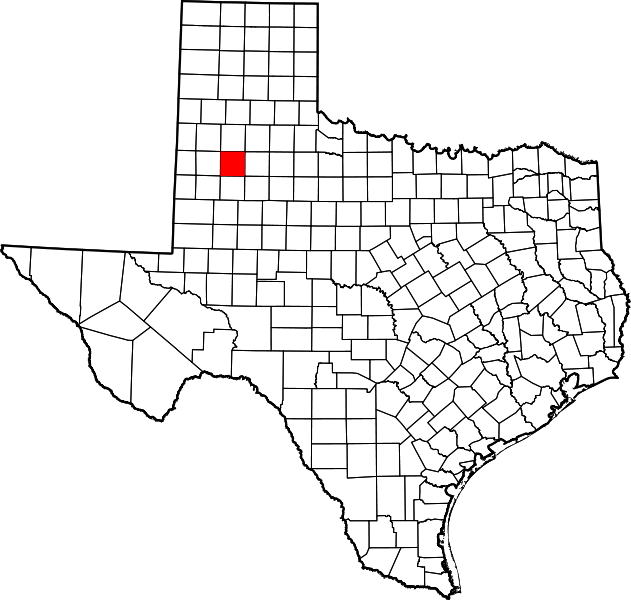 Texas Map Lubbock