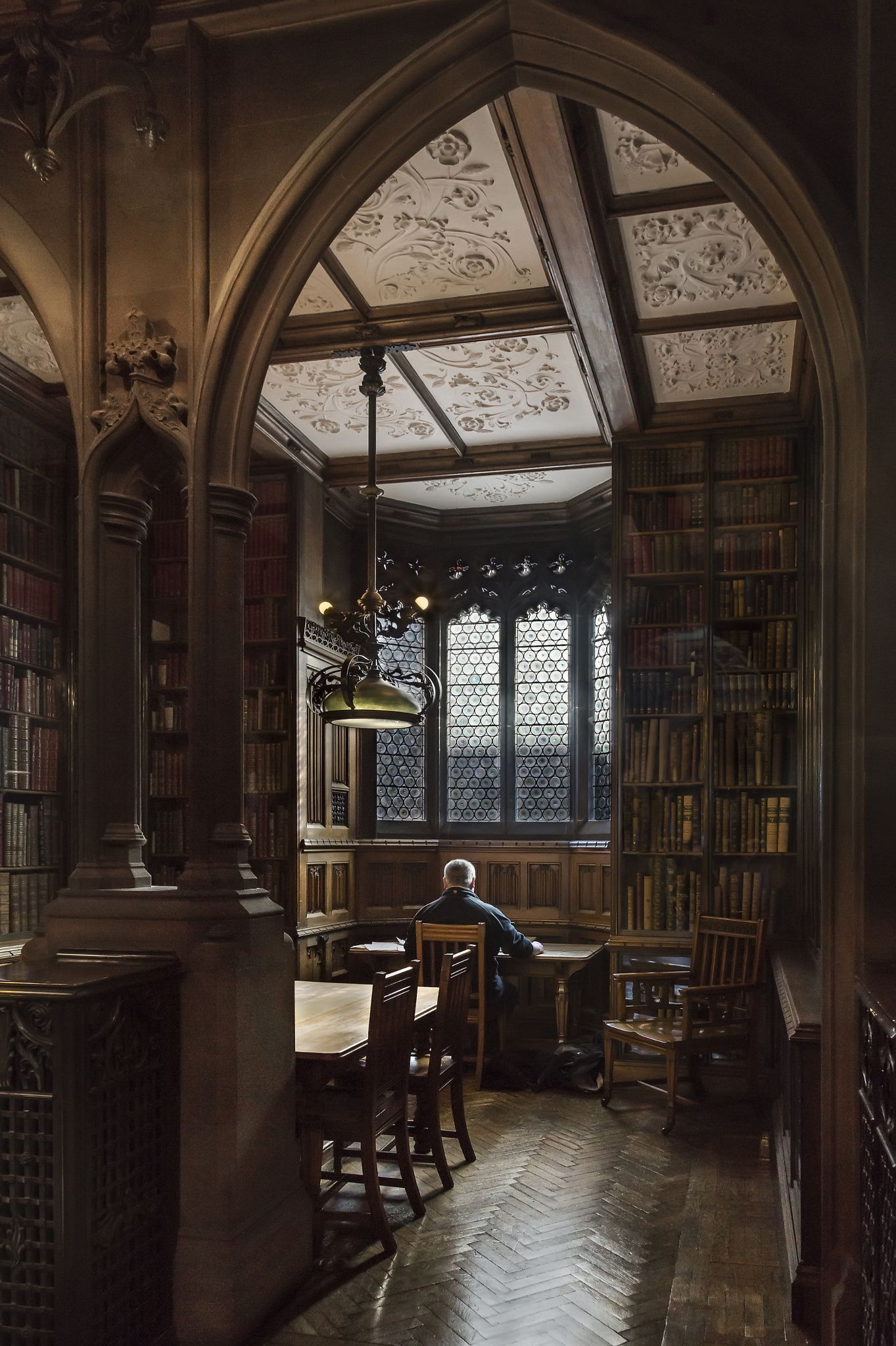 the rylands library2 aesthetic light in the