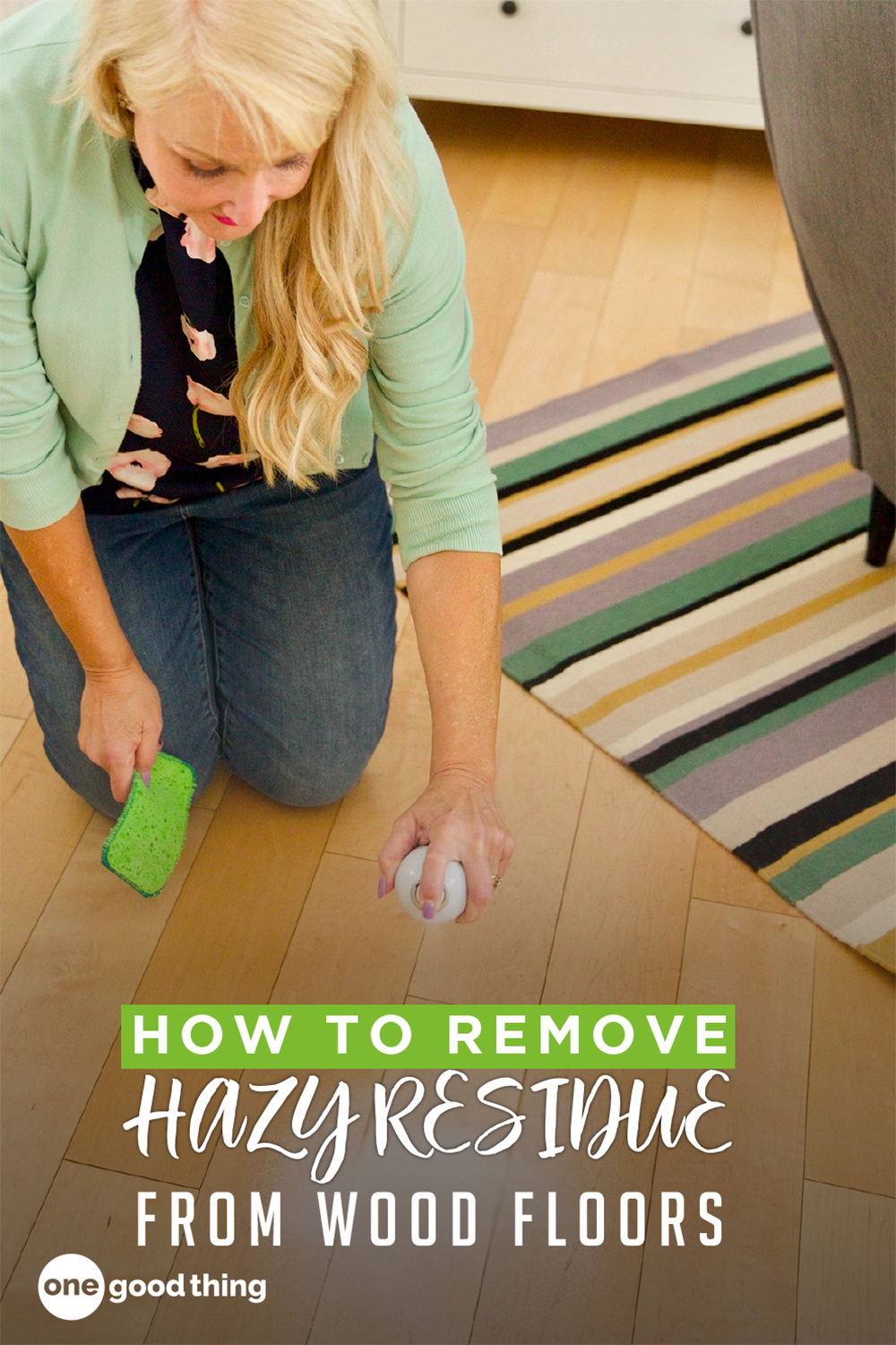 How To Remove Hazy Residue From Hardwood Floors One Good Thing By Jillee In 2020 Clean Hardwood Floors Fun To Be One Flooring