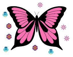 Risultati immagini per disegni di farfalle colorate da for Immagini farfalle per desktop