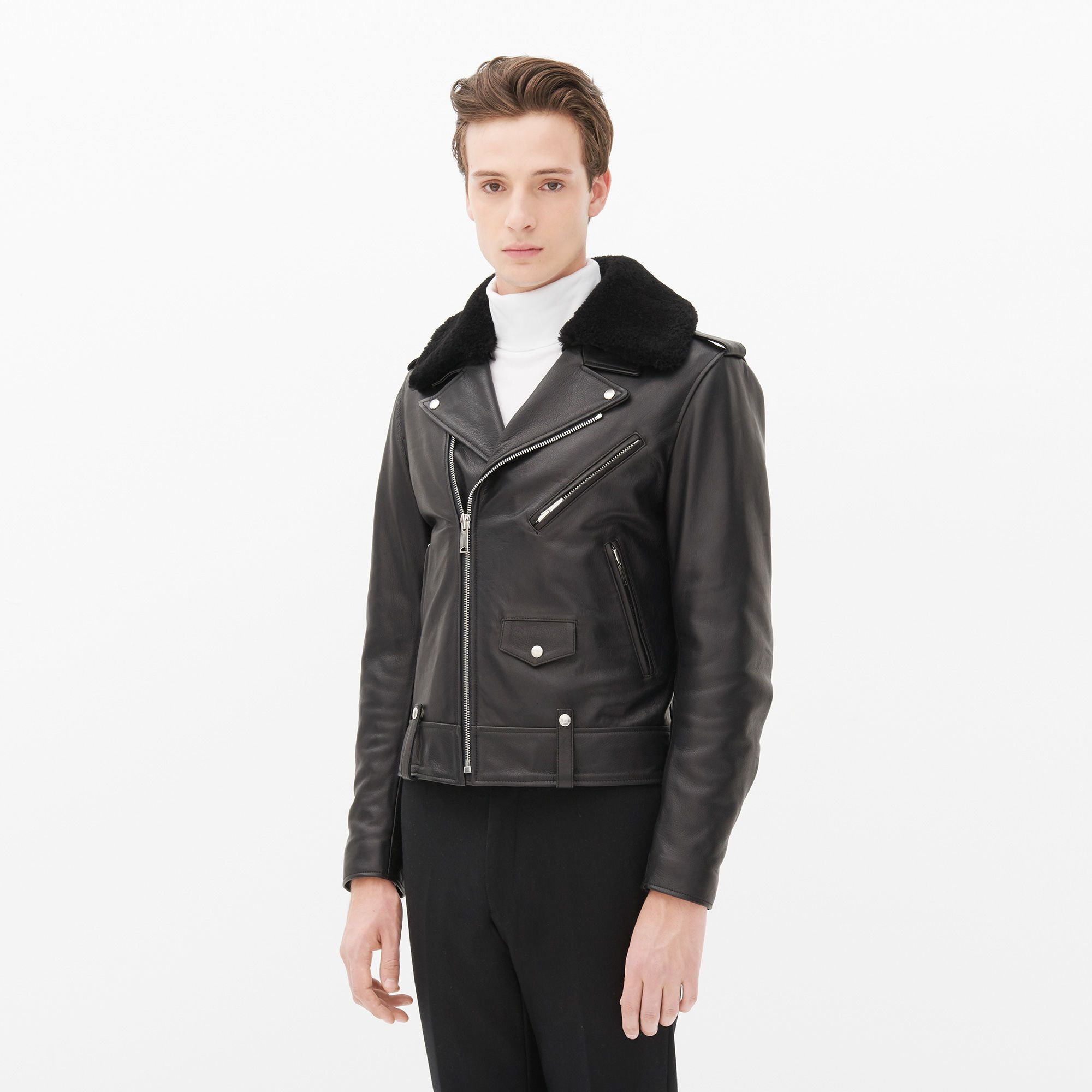 7ce410318 Weapon - Leather Jackets - Sandro-paris.com | Mine | Sandro, Jackets ...