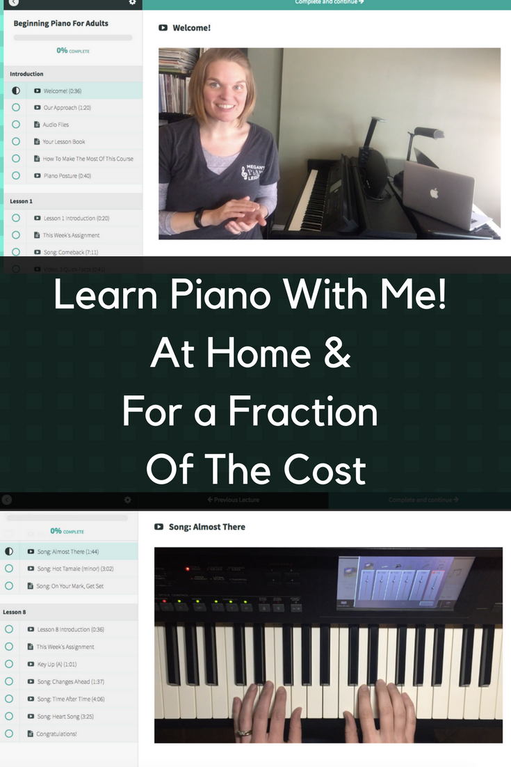 Sorry, Adult beginner lesson online piano above