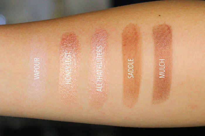 Mac cosmetics naked honey collection information photos