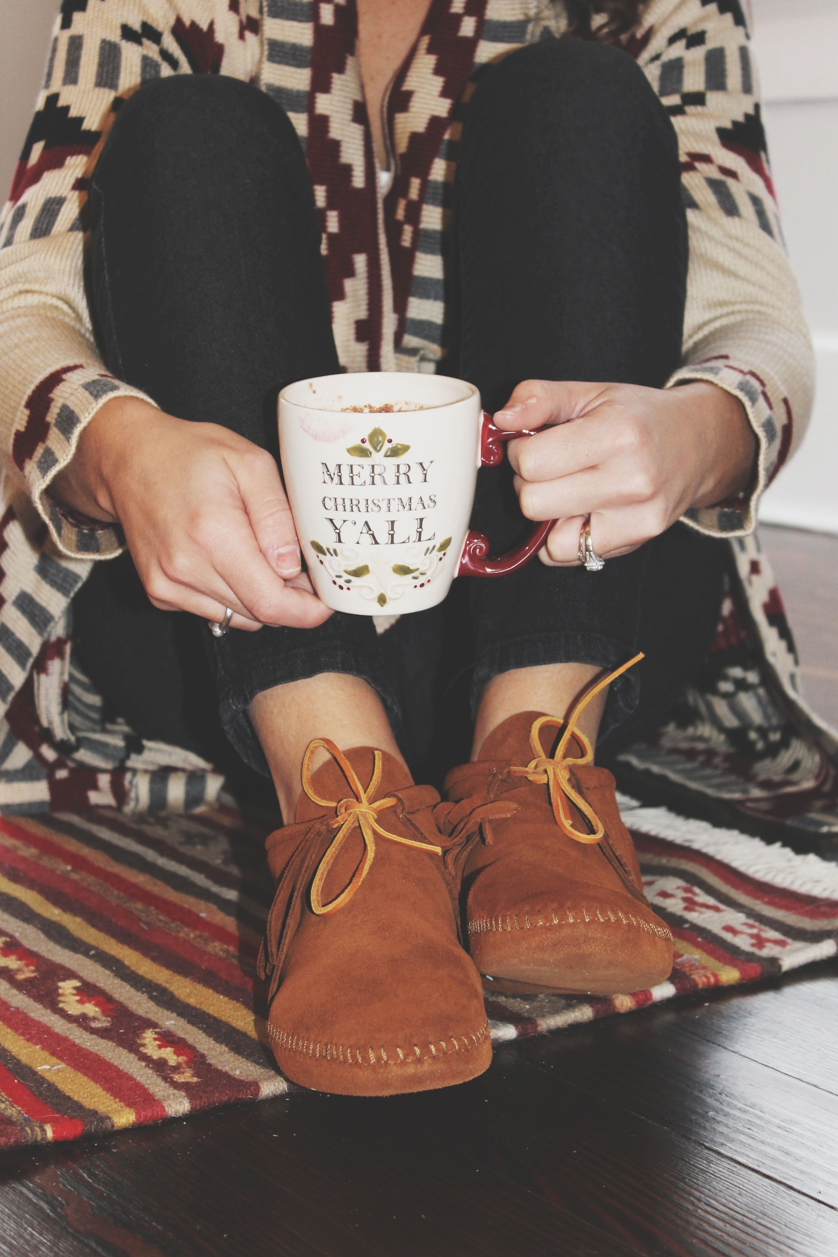 Minnetonka suede leather knee high tall lace up moccasin fringe boots - The Minnetonka Classic Fringe Boot Softsole That I Wore For The Holiday
