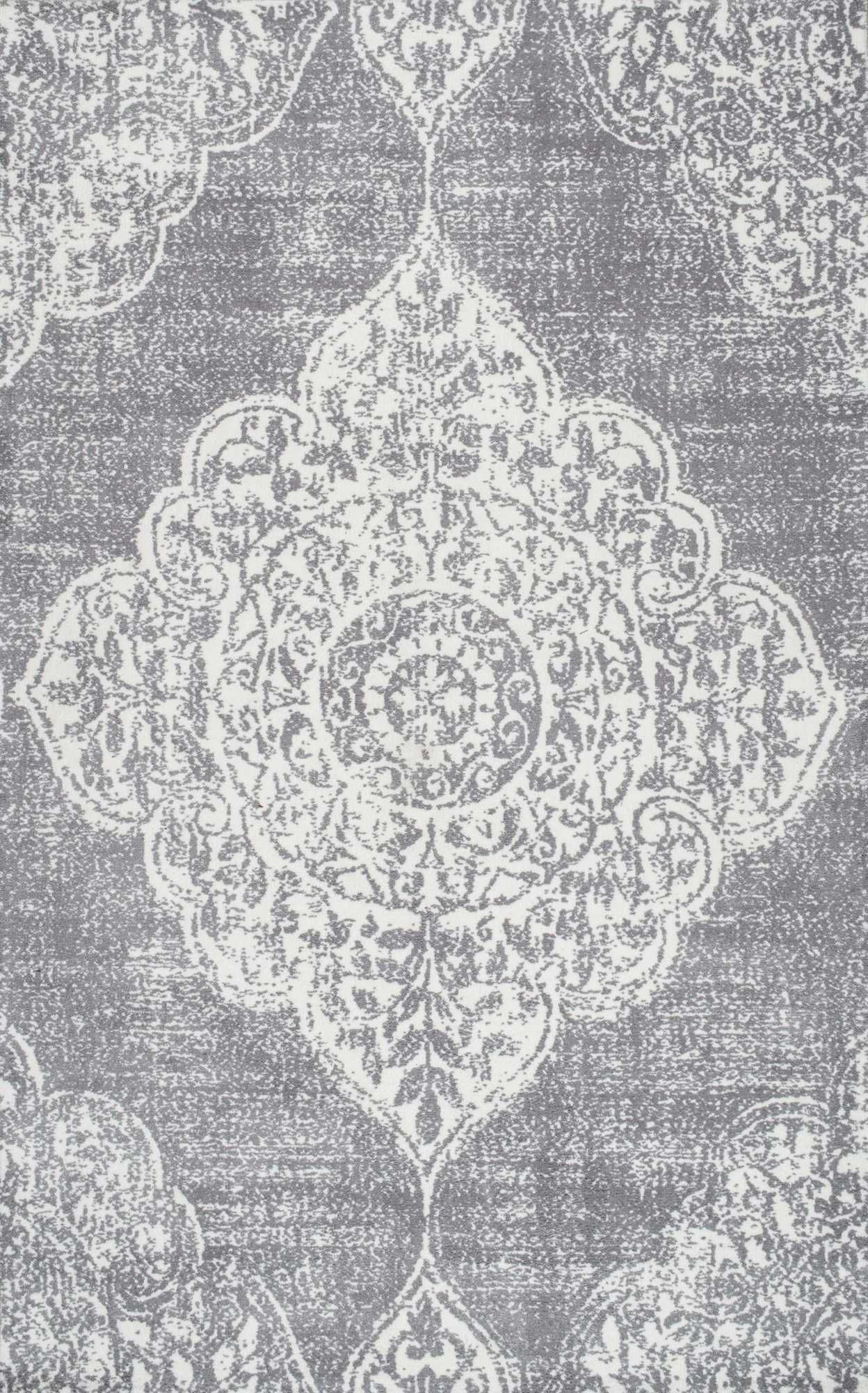 Sombre Am02 Medallion Rug Rugs Rugs Usa Grey Rugs