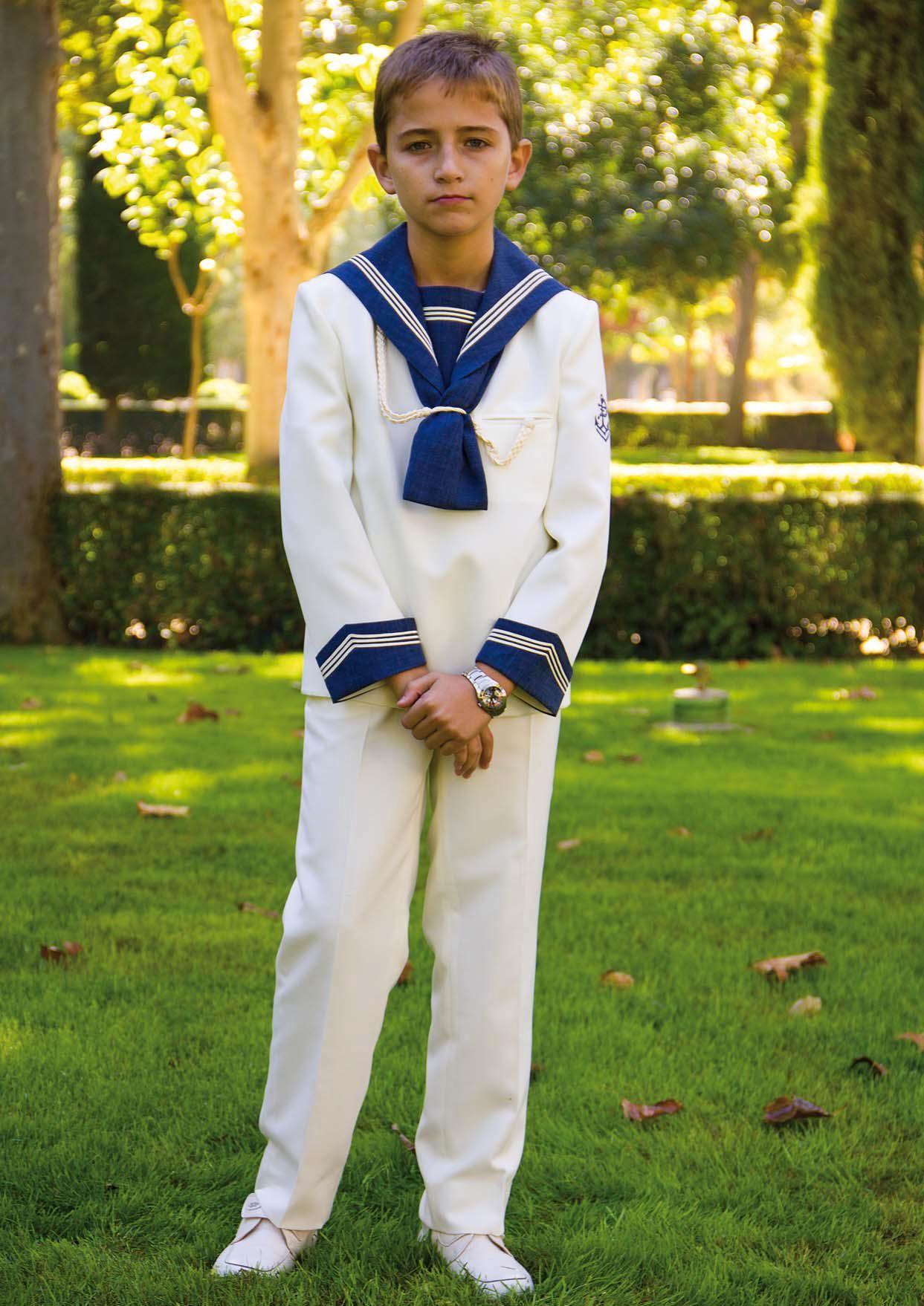 Traje marinero disfraz ni o pinterest - Disfraz de marinero casero ...