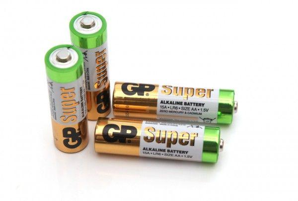 1 5v Aa Gp Super Alkaline Battery Alkaline Battery Battery Testing Battery