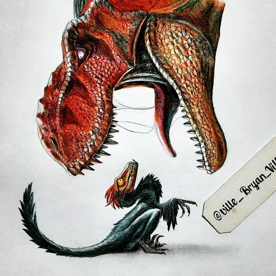 Discoverdinosaurs On Instagram Follow Discoverdinosaurs For More Paleoart Tag Your Friends Title Instagram Artist Roxy