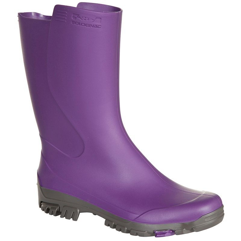 Katiuskas Botas Agua Caza Solognac Inverness 100 Ninos Impermeable Womens Rubber Boots Kids Ankle Boots Boots