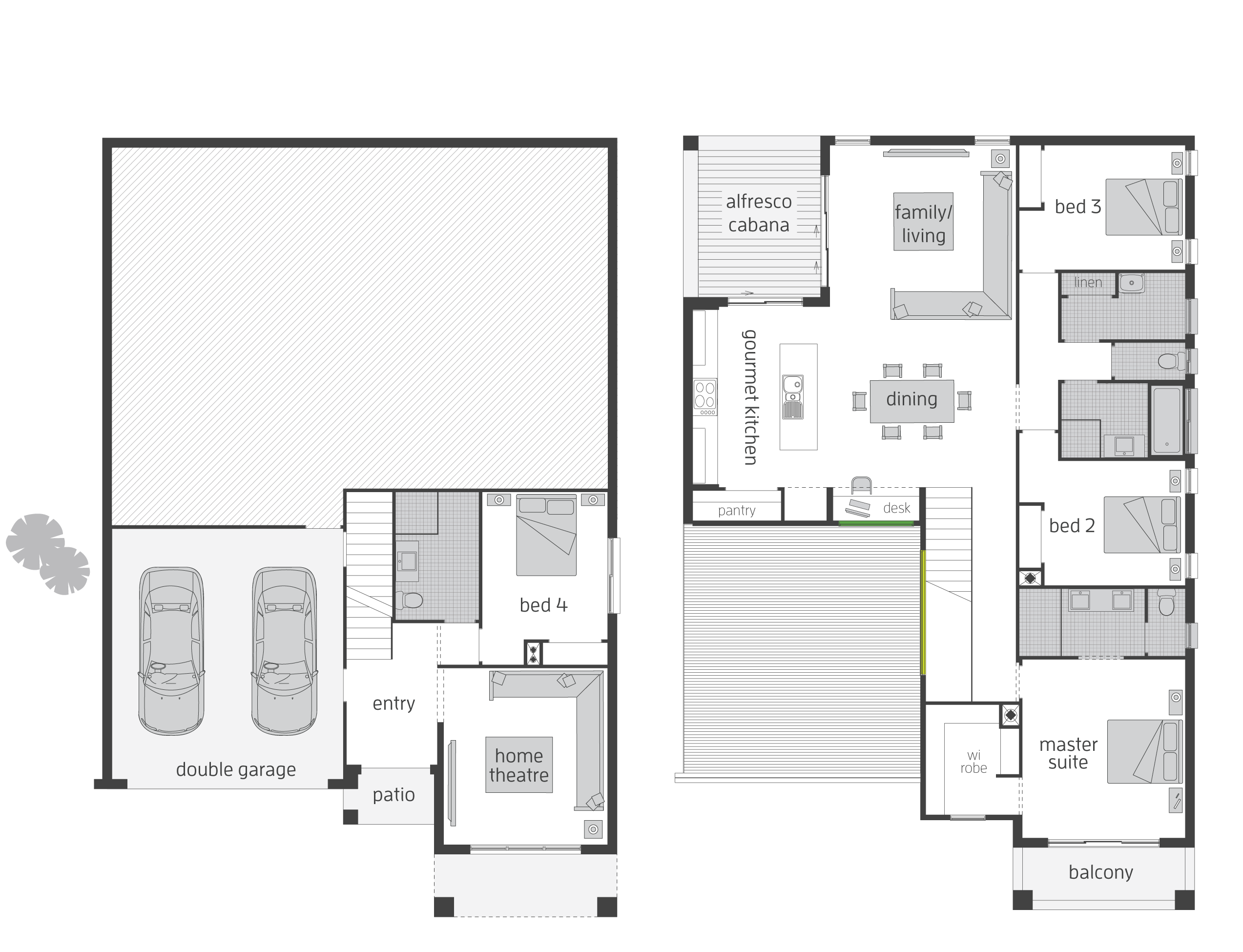 the bayview split level floor plan by mcdonald jones the bayview split level floor plan by mcdonald jones mcdonaldjones floorplan splitlevel