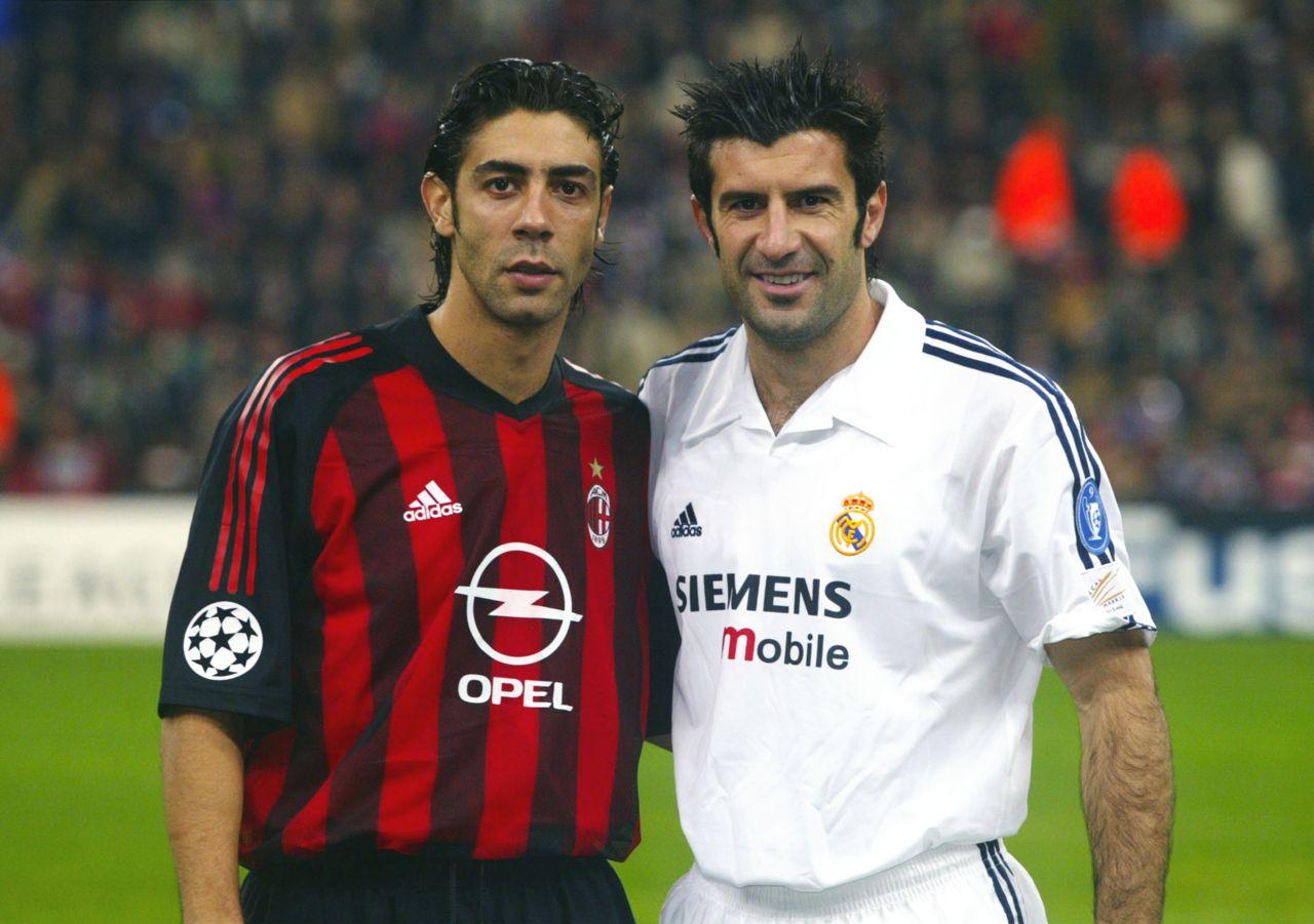 10 Rui Costa   Luis Figo - Champions League 2002 2003 Orgoglio Casciavit e39041d4e5e3b