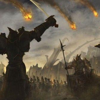 Battle Scene Fantasy Battle Background Images Wallpaper Backgrounds