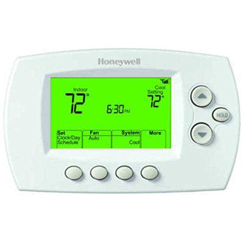 Honeywell Th6320wf1005 Wi Fi Focus Pro 6000 Thermostat Works With Alexa Ad Fi Spon Focu Honeywell Thermostats Home Thermostat Honeywell Wifi Thermostat