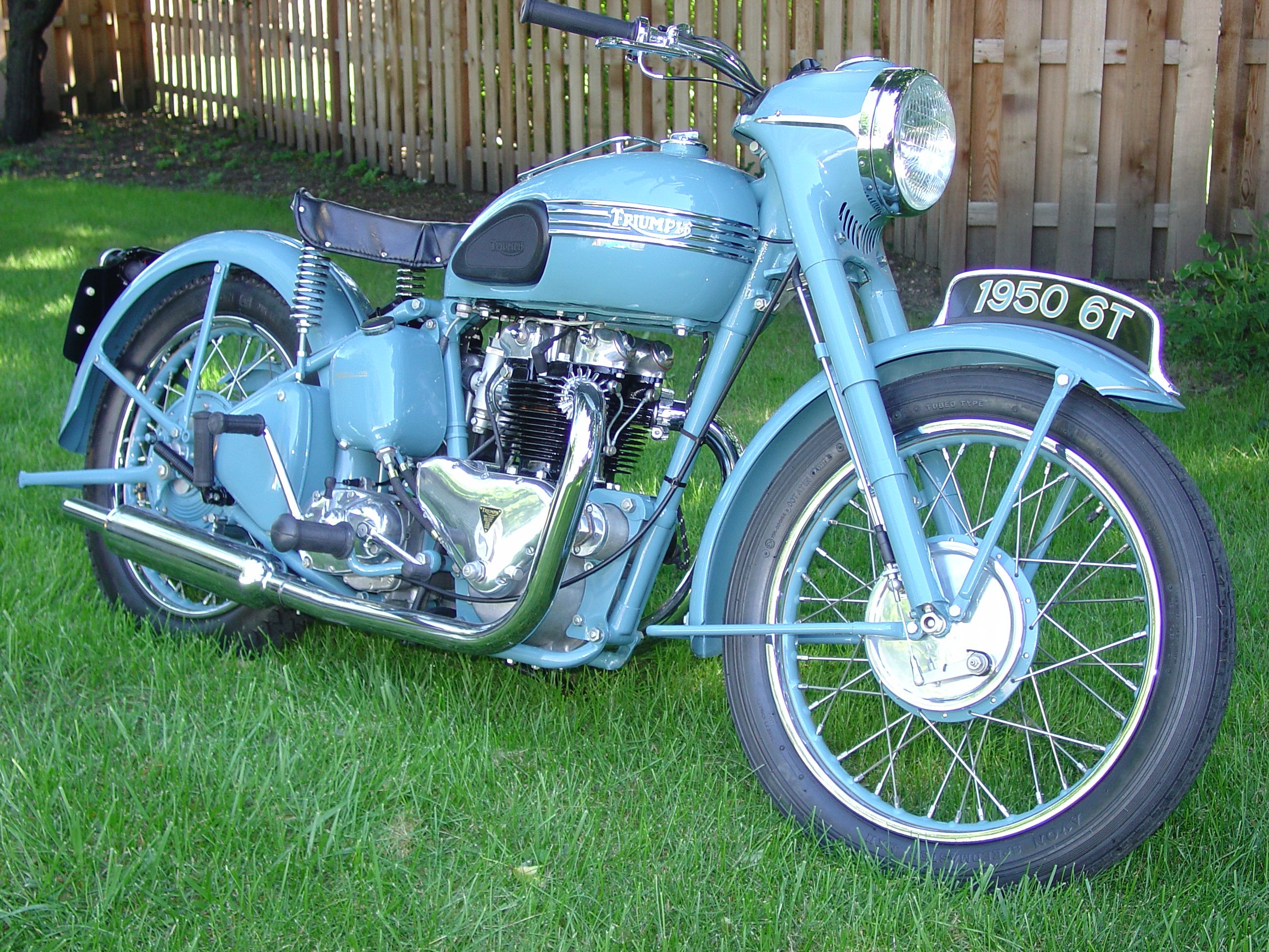1950 Triumph Thunderbird Triumph Bikes Classic Motorcycles British Motorcycles
