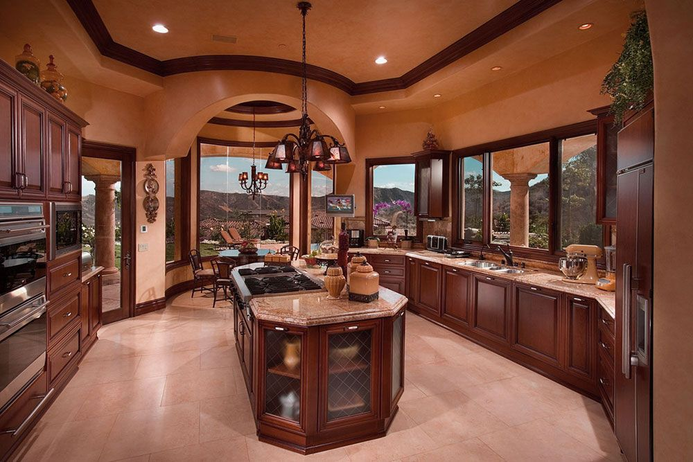 34 Stunning Interior Decorating Ideas For Kitchen Luxury Kitchen
