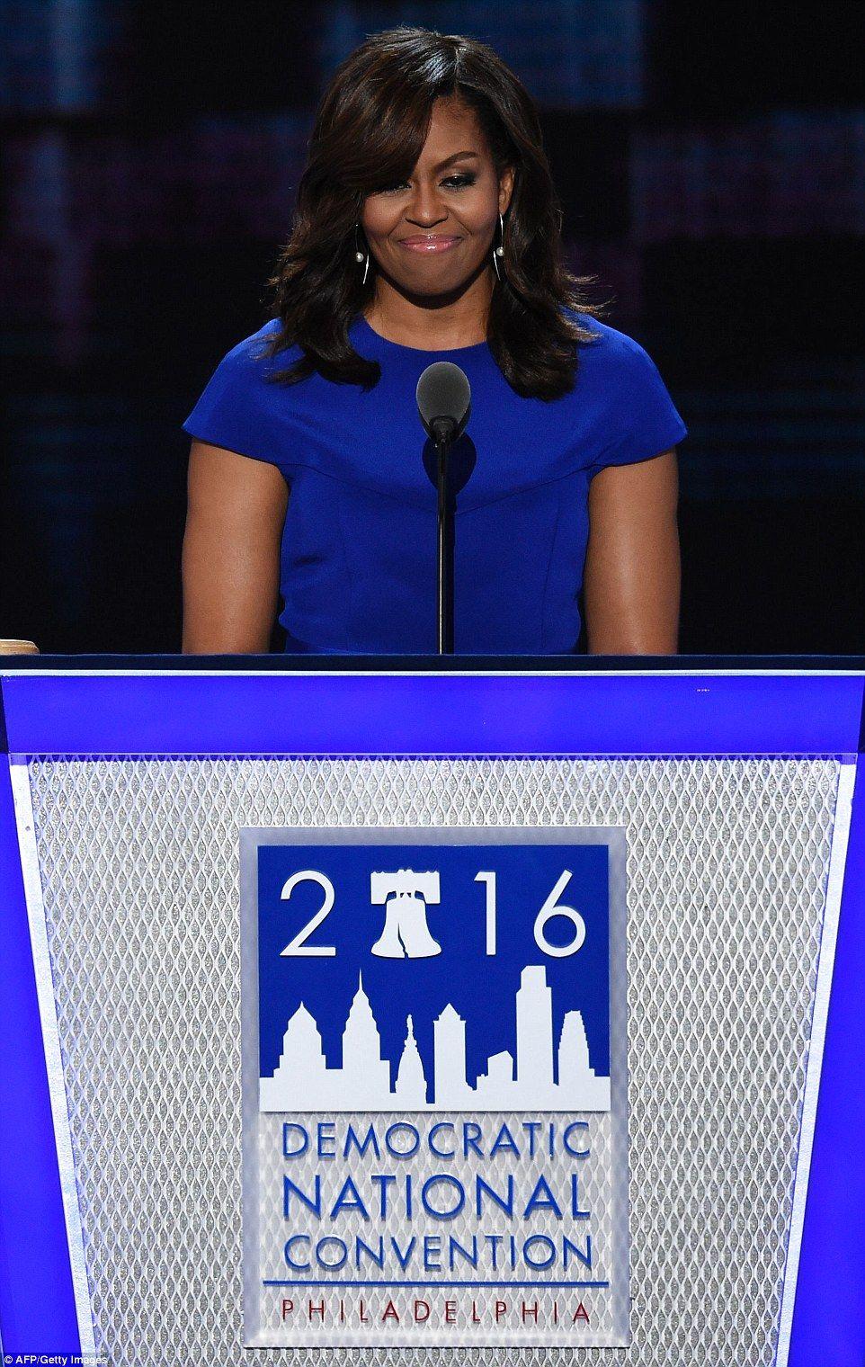 Michelle Obama Attacks Trump During Rousing Primetime Address At