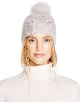 203b3d8ac AQUA Embellished Beanie | Bloomingdales's | All you need is a ...