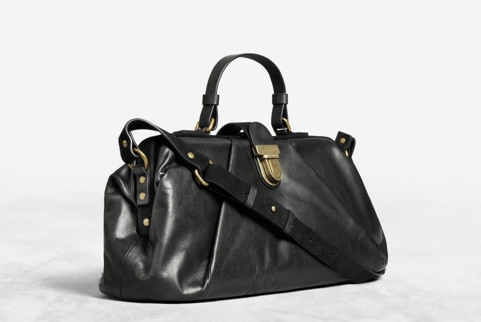 Acne Genti Leather Bag