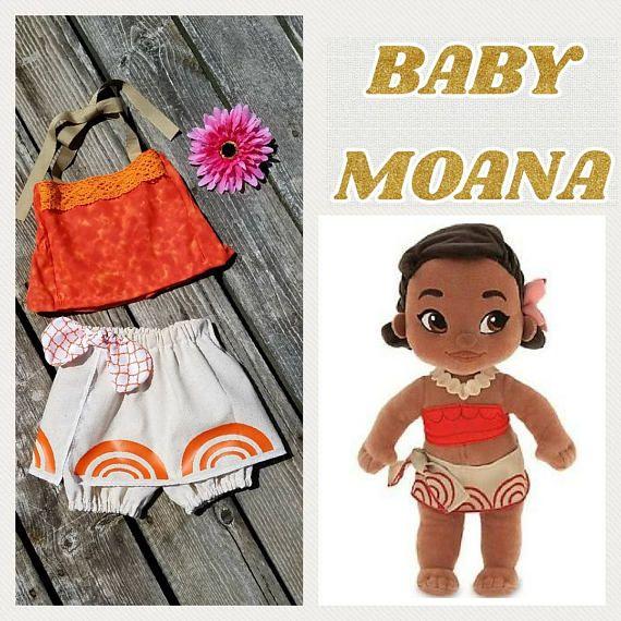 08fc1bc359efd Baby Moana Costume Baby Moana Outfit Infant Moana Toddler | Briseis ...