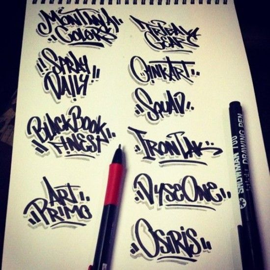 graffiti tag letters - Google Search | Graffitag
