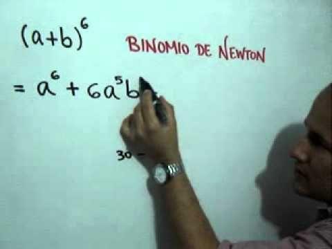 Desarrollo De Un Binomio Con Exponente Seis Julio Rios Explica