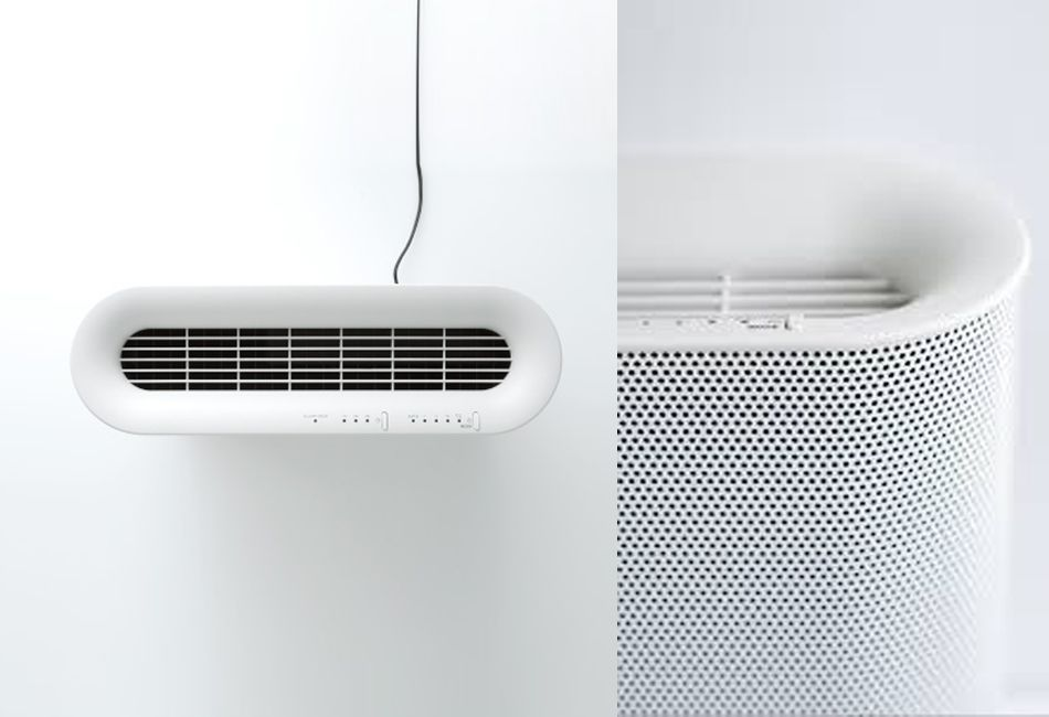 10 Easy Pieces Good Looking And Effective Air Purifiers Remodelista Air Purifier Design Air Cleaner Design Air Purifier