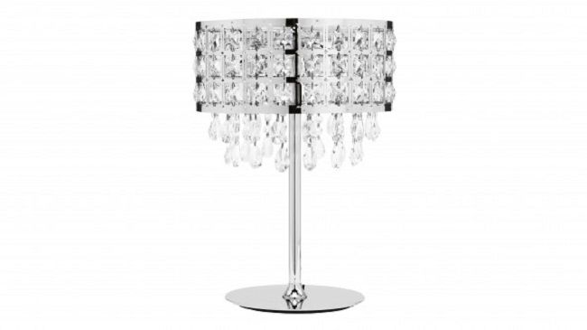 Soula Crystal Bedside Lamp Lamp Design Ideas With Images