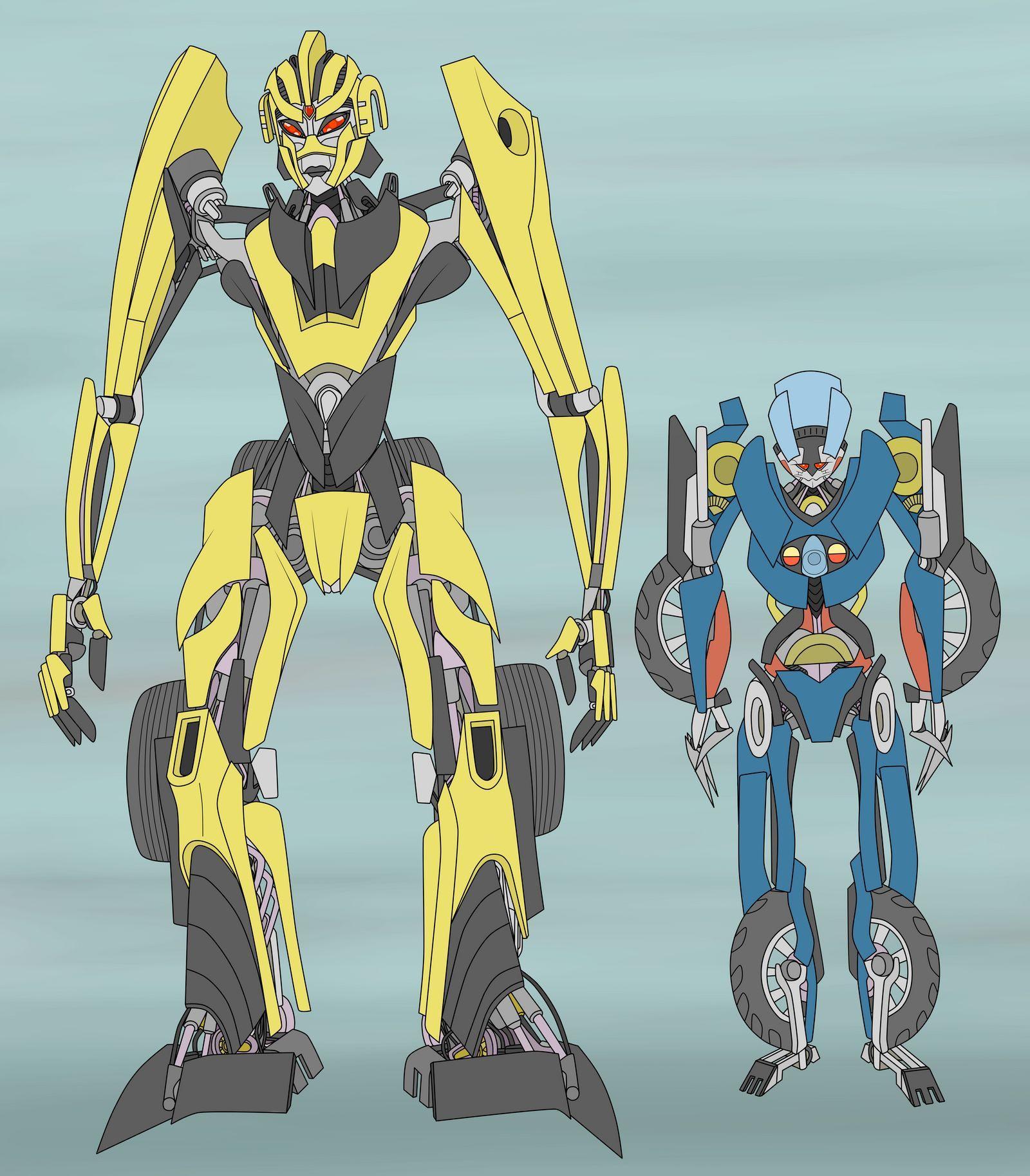 Stunticon Dragstrip And Ped By Destallano4 On Deviantart Deviantart Samurai Transformers