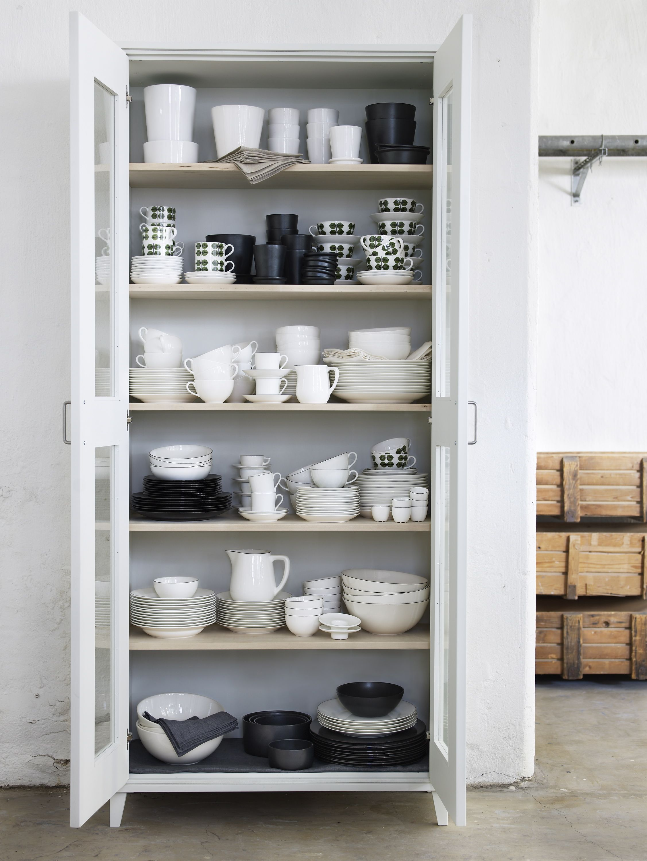 acomodar alacena en open blanco color storage una cupboard cocina kitchen platos y cabinetskitchen cabinetschina furniture de los tazas pin todos para