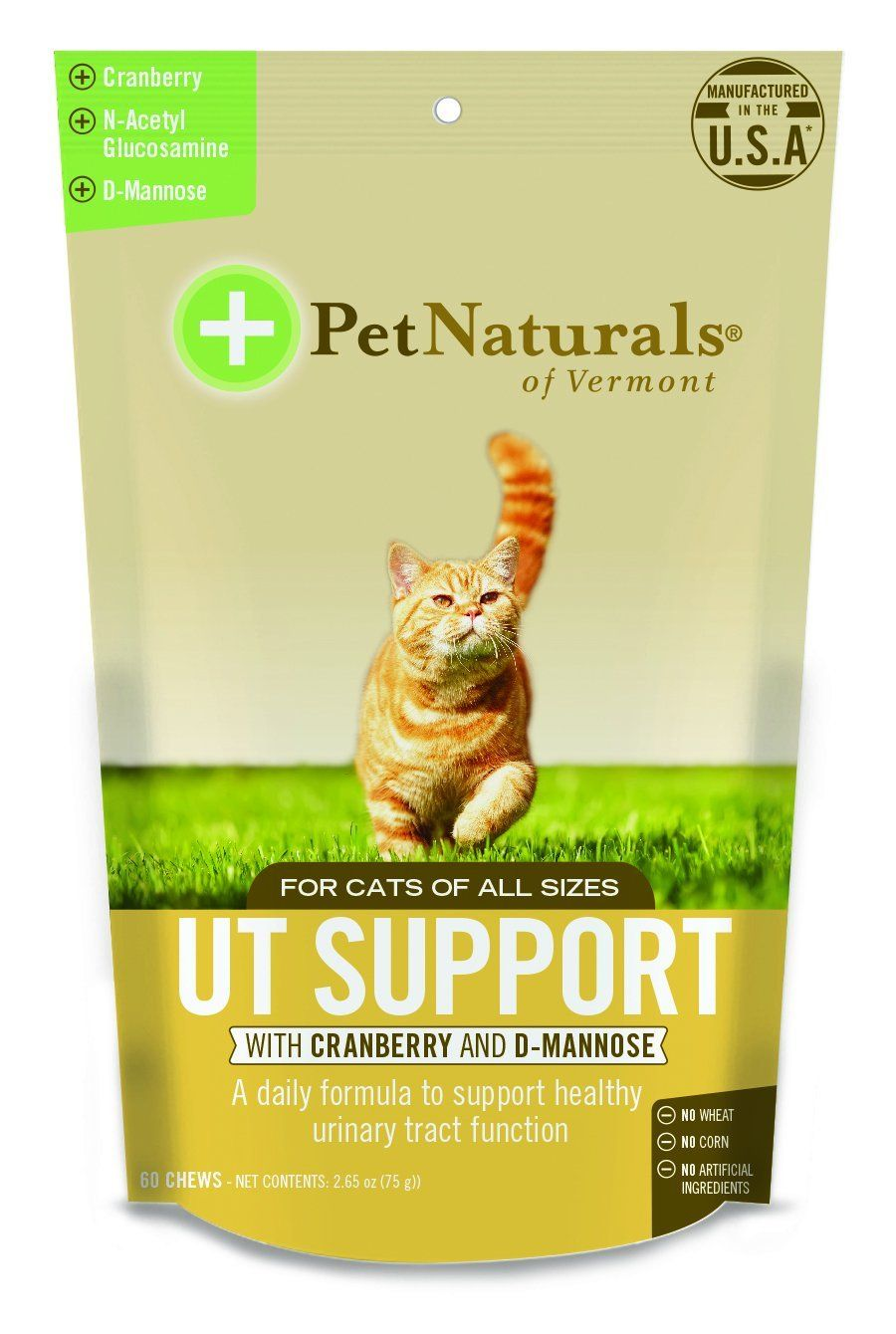 cat Natural's of Vermont 60 Count Urinary Tract Support
