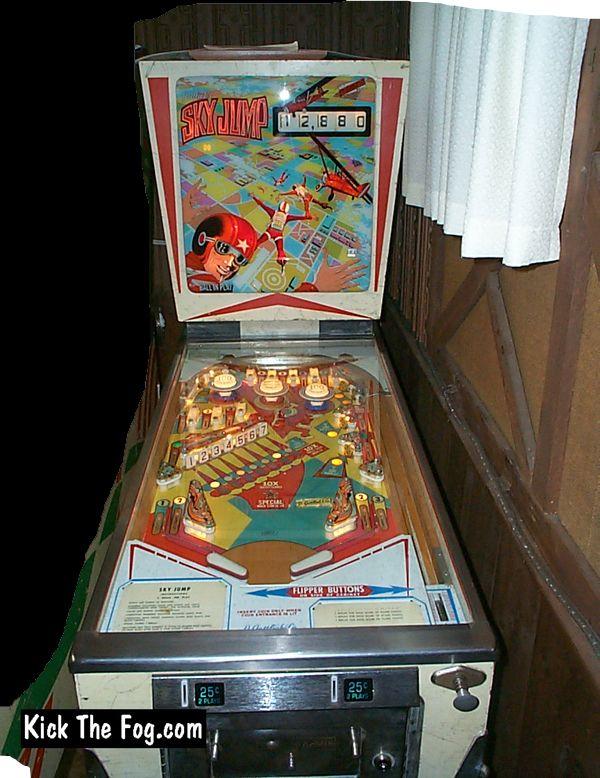 Sky Jump Pinball Machine Made By Gottlieb In 1974 Pinball Machines