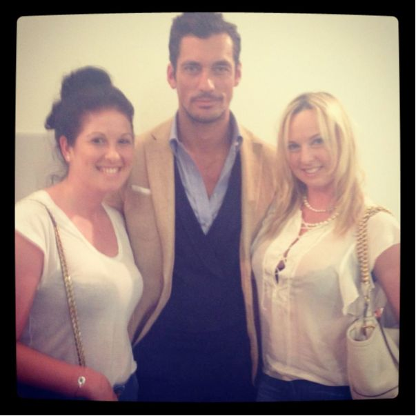 Hilary Alexander Interviews David Gandy For The Industry