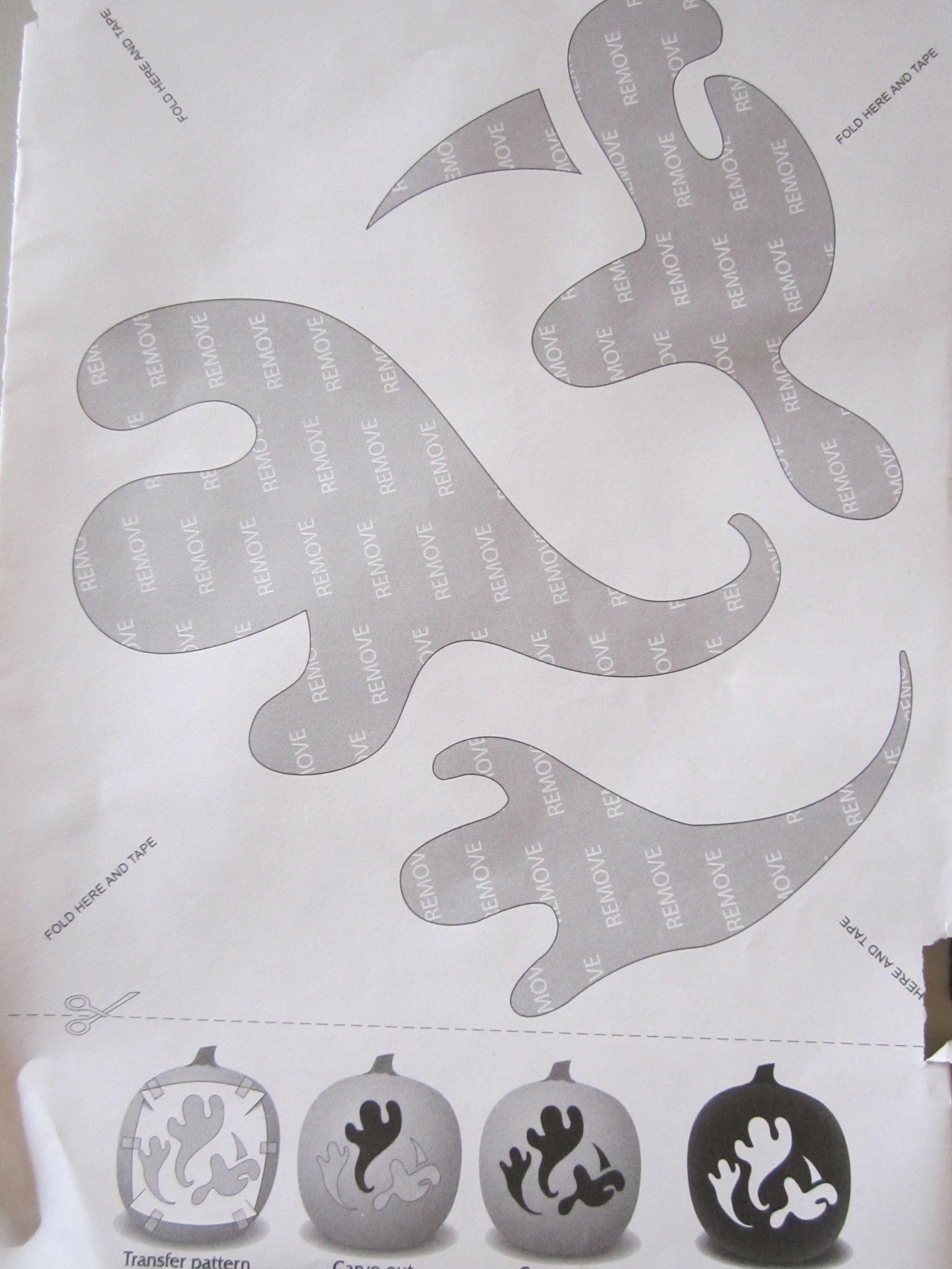 Three flying Ghost | Pumpkin Carvings | Pinterest | Pumpkin carvings ...