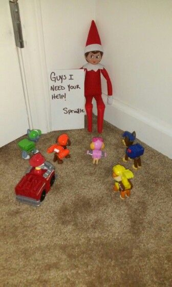 35 Easy Elf on A Shelf Ideas Toddlers, Kids, And Teens - VCDiy Decor And More #elfontheshelfideasfortoddlers