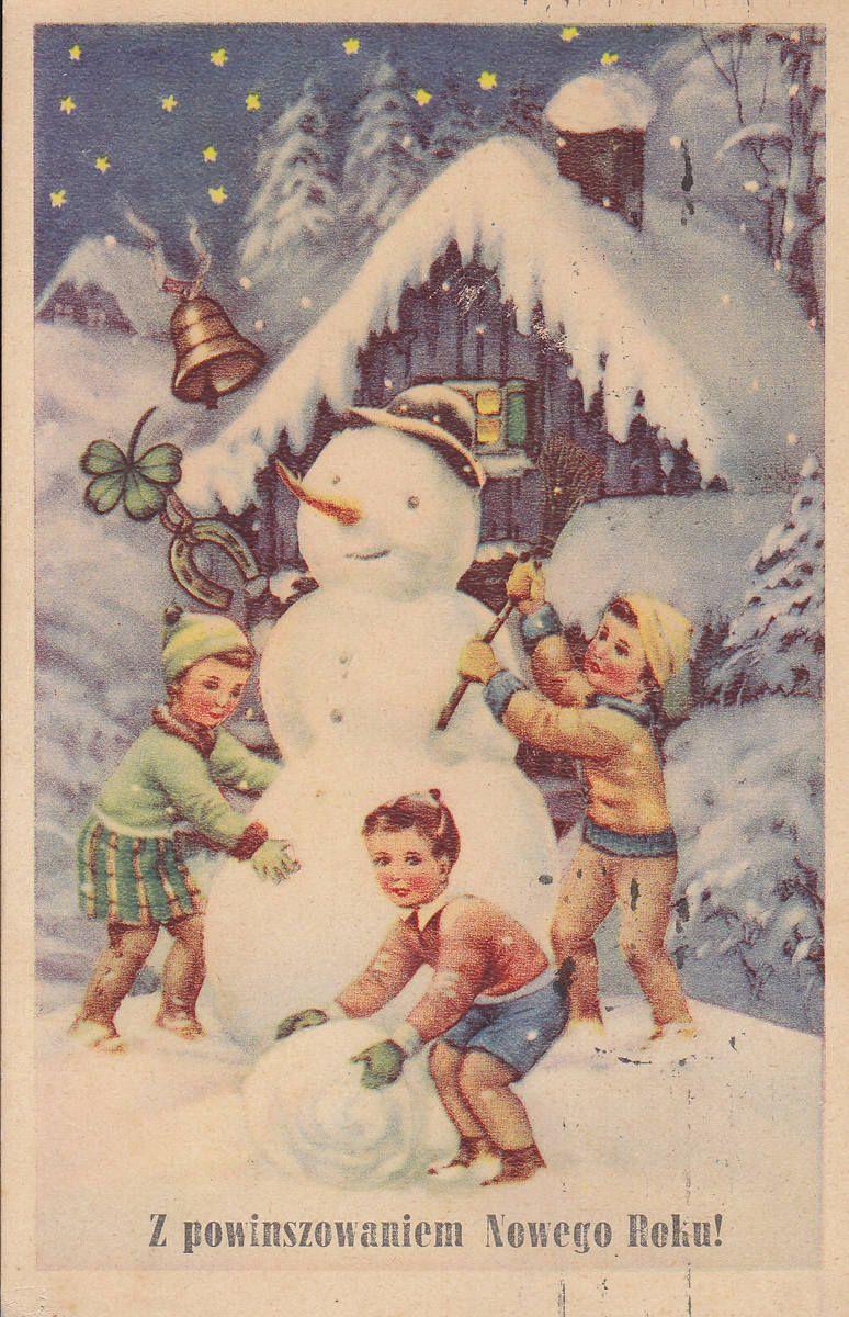 Wesolych Zimowych Swiat Boze Narodzenie Sylwester Mikolajki