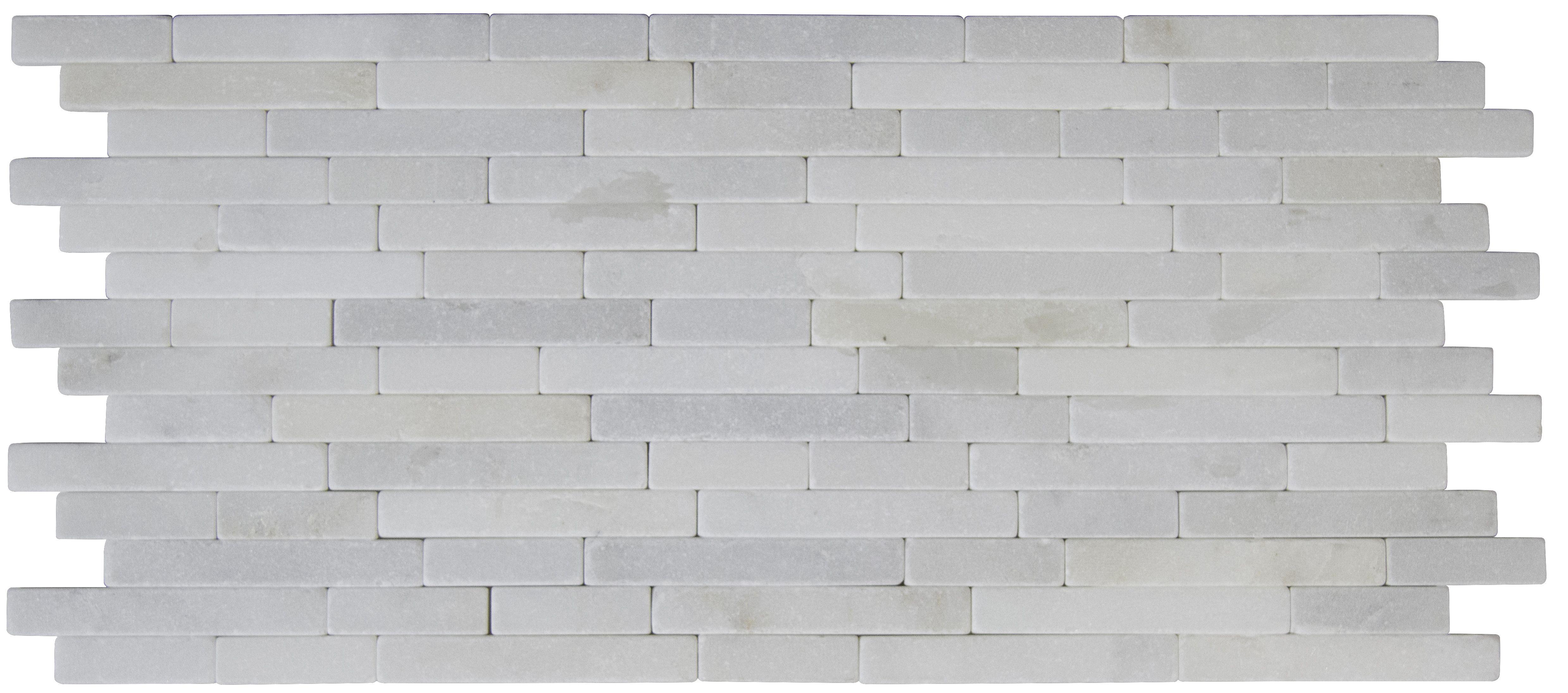 "Arabescato Carrara - Arabescato Carrara / 8""x18"" / Tumbled"