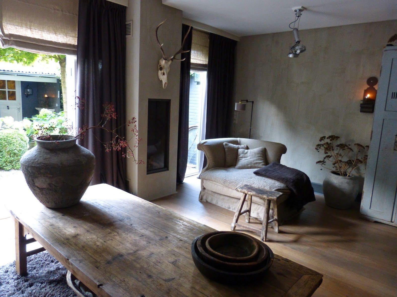 stoer landelijke inrichting   Google zoeken   Nieuwe sfeer woonhuis   Pinterest   Wabi sabi