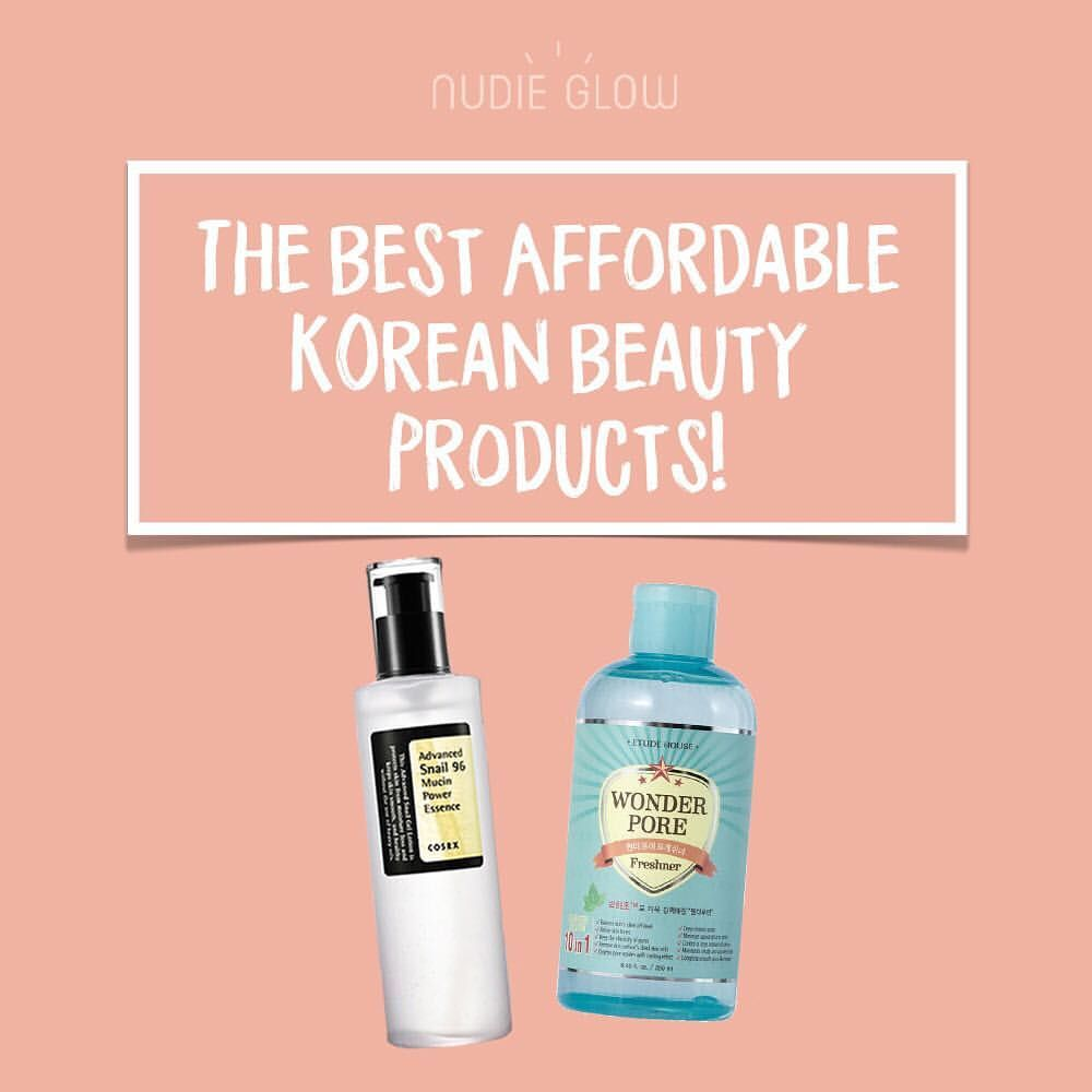 On A Budget But Still Want To Indulge In Some K Beauty Goodness Check Out This List Of The Best Affordable Ko K Beauty Korean Beauty Organic Skin Care Routine