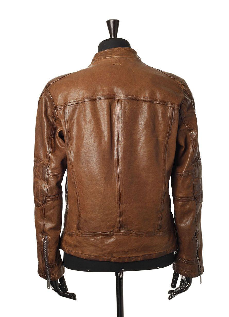 Quelle taille veste en cuir homme