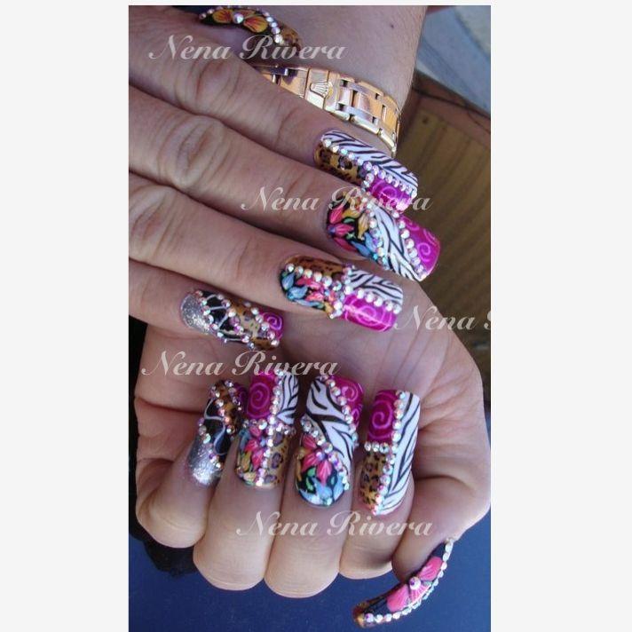 Nice Nails Estilo Sinaloa Images - Nail Art Ideas - morihati.com