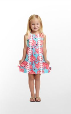 Lilly Pulitzer little girl classic shift dress